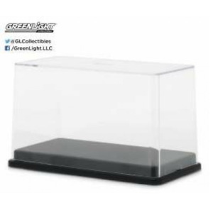 GREENLIGHT 55025 1/64 ACRYLIC DISPLAY CASE WITH PLASTIC BASE