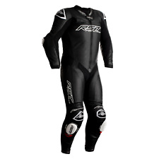 RST V4.1 Kangaroo Airbag Black (CE) One Piece Leather Riding Motorcycle Suit