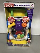 Brand New! Fisher Price Laugh and Learning Mower Educational shapes Rare!