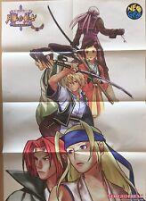【VeryRare】THE LAST BLADE NeoGeo(SNK) Original Poster Fro:Japan