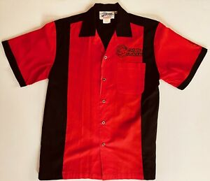 Vintage Crusin USA Matco Tools Racing Medium Bowling Shirt