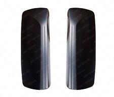 QSC Door Mirror Black Cover Set Left & Right for Volvo VNL Trucks