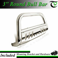 Fits 2011-2016 Ford F250 350 SS Bull Bar W/SKID Plate Brush Push Grille Guard