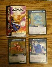 Avatar The Last Airbender TCG Card Game Zenemental Holos Aang Iroh Zuko NM