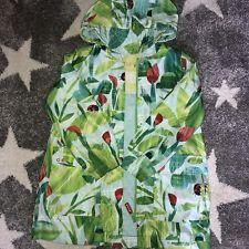 Oilily ragazze Giungla Foglia Verde Pioggia MAC Cappotto Età 6 anni