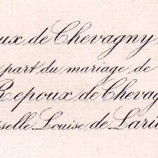 Gustave Repoux De Chevagny Saint-André Luzy Nièvre 1880 De Laribal De Boisson