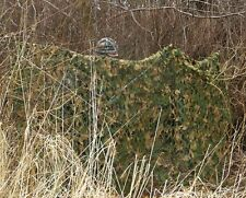 STEALTH GHOST CAMO NET PIGEON HIDE SHOOTING DECOY 5m WOODLAND NETTING WOOD GREEN