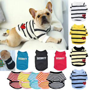 Pet Dog Clothes T-shirt Puppy Cat Sweater Coat French bulldog Chihuahua Apparel+