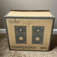 Sonos Digital Music System SP100 Pair Bookshelf Speakers Loudspeakers 75W