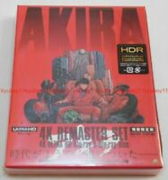 AKIRA 4K Remastered Set 4K ULTRA HD Blu-ray & 2 Blu-ray Booklet BCQA-0009