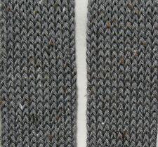 New Handmade Knitted Women's Scarf Caron Simply Gray Heather Tweeds Yarn