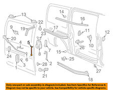 GM OEM Side Sliding Door-Control Rod 15734060