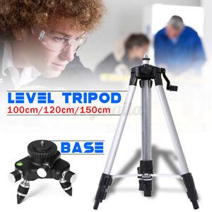 Baustativ Professionell Wasserwaage Stativ für Laser Nivelliergerät Messgeräte