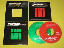 Nitzer Ebb Godhead Two CD Singles Limited Edition Electronic Rock Thrash