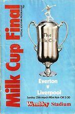 Everton v Liverpool - Milk Cup Final - 1984