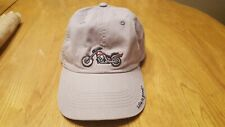 Life Is Good Motorcycle Cap Hat Adjustable Strap back