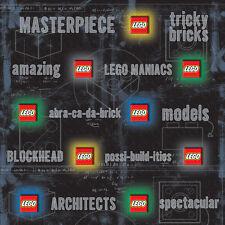 "Creative Imaginations 12"" x 12"" Lego Phrases Embossed Scrapbook Paper"