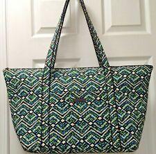 Vera Bradley Carry-On Travel Tote Bag XLarge Handbag in Geometric Design