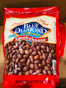 Blue Diamond Almonds, Smokehouse, 45 Ounce (Pack of 2) Total 90 Ounce