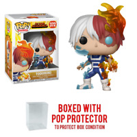 Pop Animation : My Hero Academia Wave 2 : TODOROKI #372 Vinyl w/Case