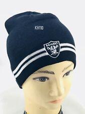 NFL Oakland Raiders Knit Striped Beanie