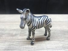 "Schleich 1998 Germany 4"" Zebra Pvc Horse Wild Animal Figure"