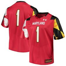 Maryland Terps College Football Jersey By Under Armour NWT Terrapins NCAA UMD
