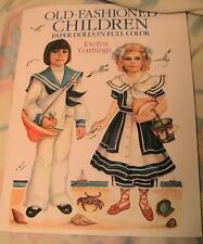 Old Fashioned Children Paper Dolls New!