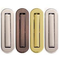 Sliding Flush Recessed Pull Sliding Door Handle Polished or Satin Chrome Plate