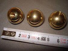 boule en laiton diamètre 20 mm, sphérique, pied, fin de lustre... (réf BT)