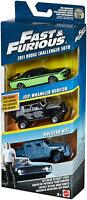 Fast and Furious 3 Pack of Cars Off-Road Octane Pack