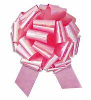 "14"" Iridescent Metallic Giant Large Instant Pull Bow Birthday Wedding Decoration"