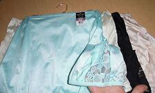 5 Vanity Fair Brief Panty Set Nylon Lace 13001 Blue White Black Yellow Beige 6 M