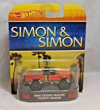 Hot Wheels Retro Entertainment 1/64 1980 Dodge Macho Power Wagon
