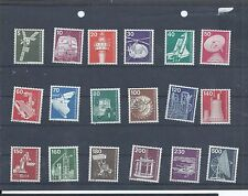 Berlin West Germany stamps.  18 0f the 1975 etc Industry & Technology MNH (A250)
