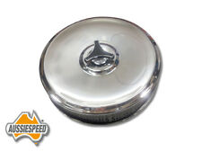 CHROME AIR CLEANER suit Holley 2 & 4 barrel 5 1/8 neck carburettor 9 inch