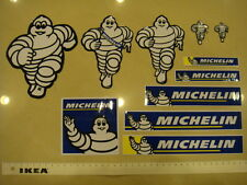 Trial lot of eleven (11) different MICHELIN individual stickers (Free S/H)