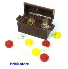 8 x LEGO® 61780 City,Piraten Behälter Kisten,Mülltonne in braun Neuware