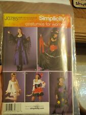 Simplicity J0785 Costumes for Women halloween
