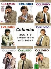 31 DVDs  * COLUMBO - SEASON /  STAFFEL 1 - 9 IM SET # NEU OVP +