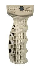 REG - RUBBERIZED ERGONOMICALLY DESIGNED TACTICAL FOREGRIP Tan Color Fab-Defense