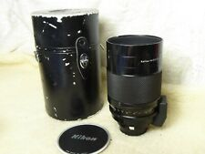 Nikon Non-Ai 500mm f8 Reflex Nikkor-C Mirror lens, excellent condition + case