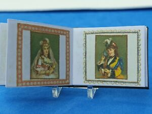 1/12 scale Book ,Victorian Scrapbook  ,Crafted by Ken Blythe