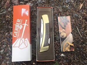 Vintage Gerber Folding Sportsman Pristine Condition - Never Sharpened