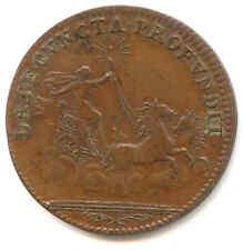 VECCHIO GETTONE REALE FRANCESE ROI LOUIS XV 1700 BIGA