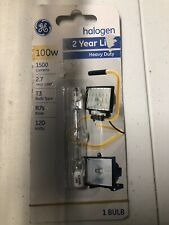 GE Lighting T3 Halogen Bulb 100W 1500 Lumens Double Ended - NEW