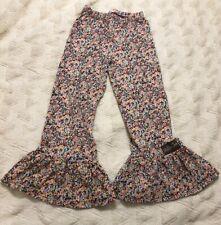 Girls MATILDA JANE Friends Forever Carmen Big Ruffles PANTS Size 8 Floral