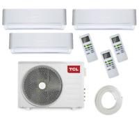 TCL Inverter-Multisplit-Klimaanlage | FMA Trio | 3 x 2,5kW | 27000 BTU