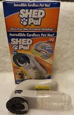 Tele Brands Shed Pal Incredible Cordless Pet Vac w/ Box