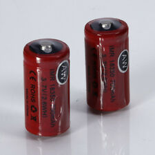 2pcs AW IMR 18350 3.7V 700mAh HighDrain Rechargeable Battery for cigarette